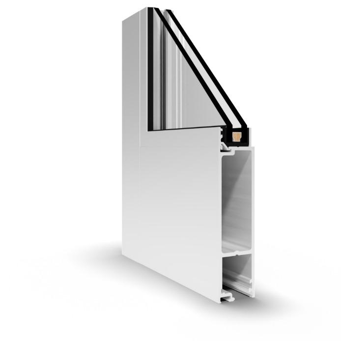 NS-250 Stile and Rail Door
