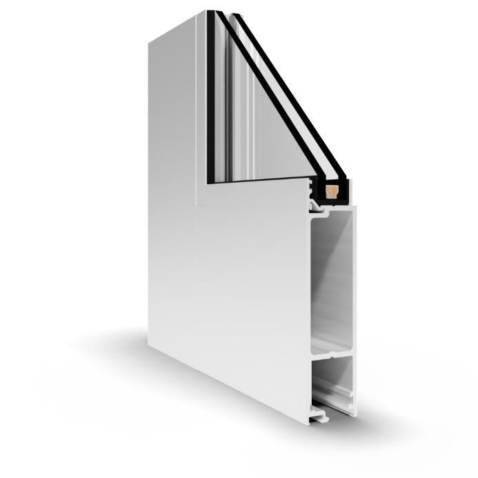 WS-500 Stile and Rail Door
