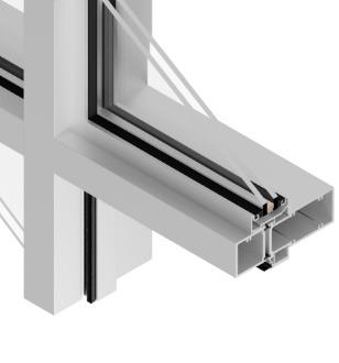 T14650 Cross Aluminum Storefront