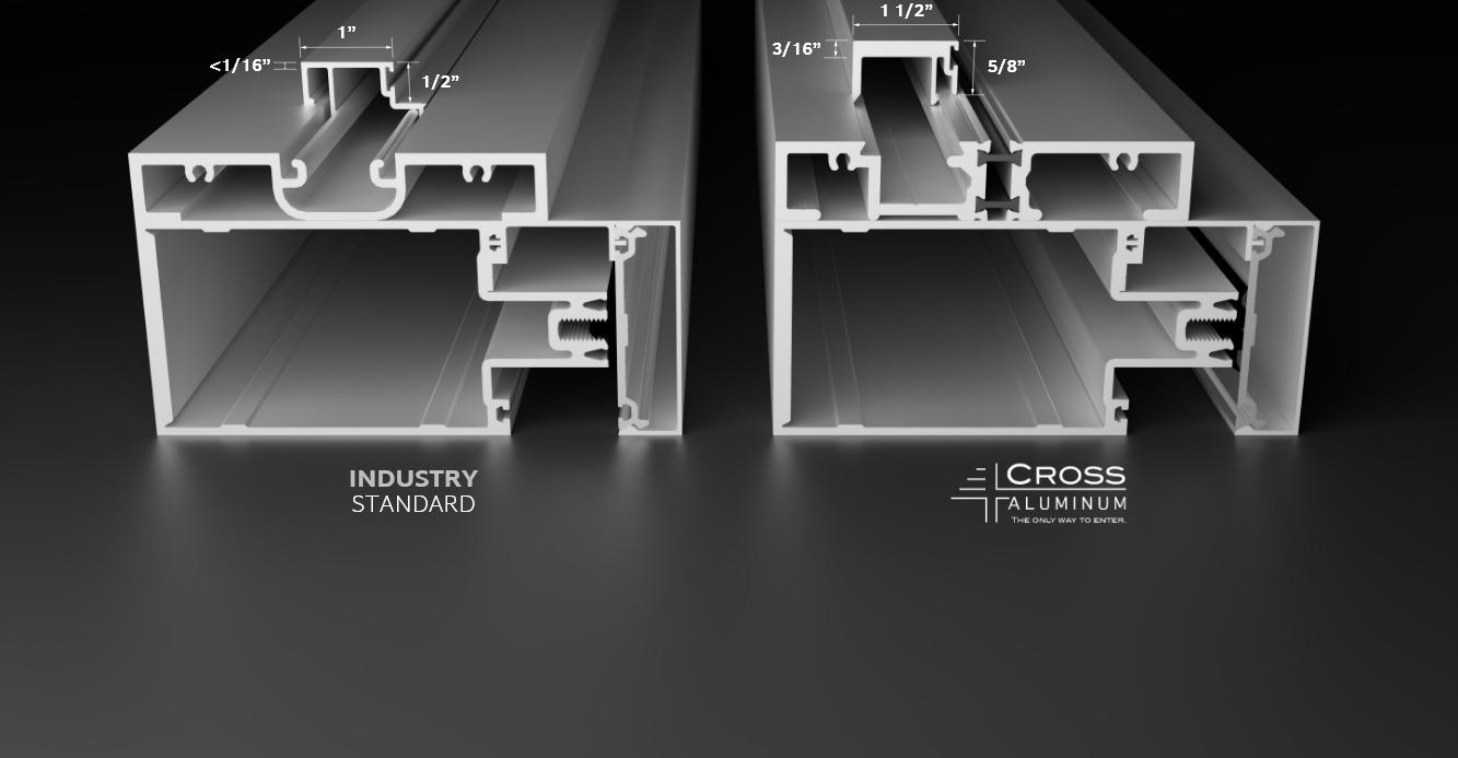 Cross Aluminum CW-2500 Heavy Duty Door Stop Comparison